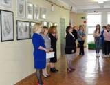 В Волгодонске открылась выставка академического рисунка и живописи «Карандаша и кисти связь»