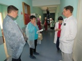 В Волгодонске общественники посетили БСМП: ремонт и оборудование нужны срочно