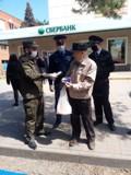 В Волгодонске прошла масштабная акция: горожанам раздали защитные маски