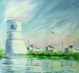 350 работ направили художники Волгодонска на конкурс, посвященный 75-летию атомной отрасли