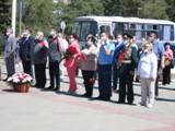 В Волгодонске возложили цветы к памятникам: никто не забыт, ничто не забыто